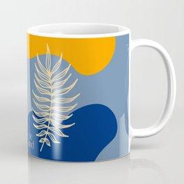 Be Kind - Summer Abstract Coffee Mug