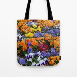 Pancy Flower 2 Tote Bag