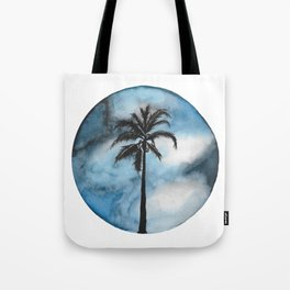Blue Beach Tote Bag