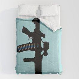Art not War - Blue Comforters