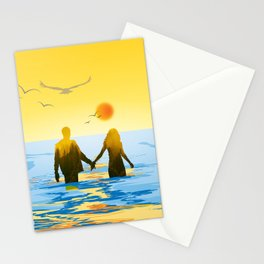 Together till the end Stationery Cards