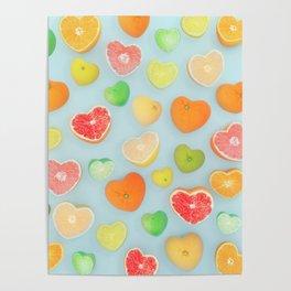 Juicy Hearts Poster