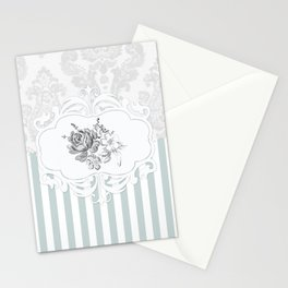 Cristine in Turquoise Stationery Cards