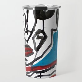 Portrait 1 Travel Mug