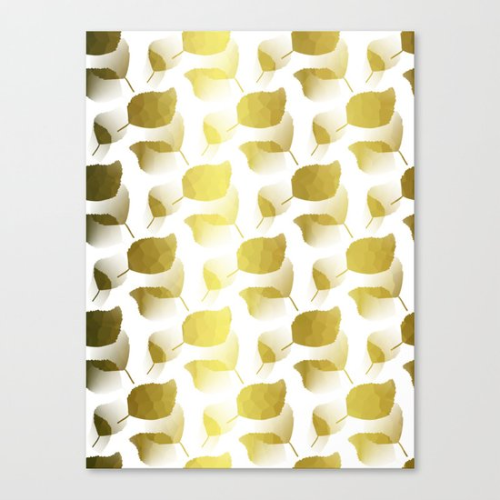 Golden Cascade Canvas Print