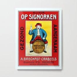 Mechelen doll Metal Print