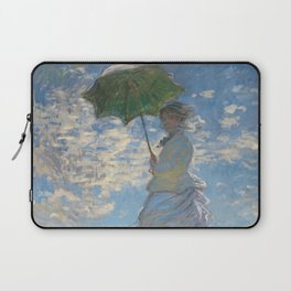 The Walk, Woman with a Parasol by Claude Monet Laptop Sleeve