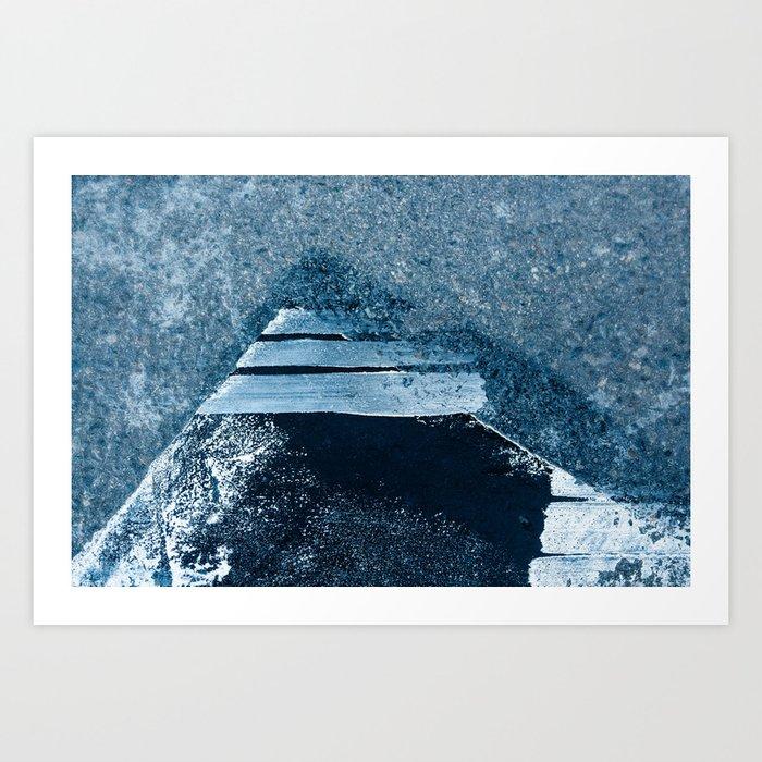 Abstract Pattern - Pyramid Art Print