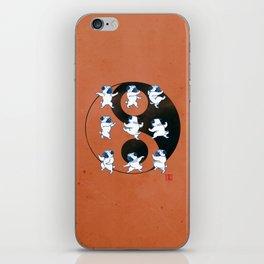 Pug Tai Chi Moves iPhone Skin