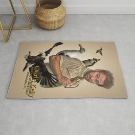 Charlie Kelly: Attorney at Bird Law - Always Sunny - Fan Art Rug