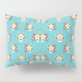 Fashion Flower Pattern Art Design Pillow Sham