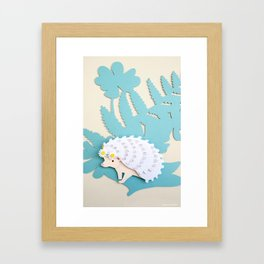 Queen of the Hedge Framed Art Print