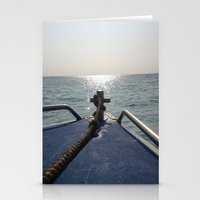thailand Stationery Cards featuring Thailand Boatride by Plutonian Oatmeal