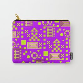 Wonderland Magenta Carry-All Pouch