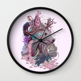 Forest Warden Wall Clock