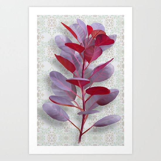 Royal Purple Art Print