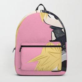 pink chibi cloud Backpack