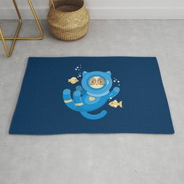 Purrfect Dive Rug
