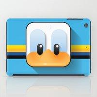 donald duck iPad Cases featuring donald duck by designoMatt