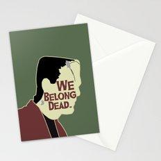 Frankenstein - We Belong Dead Stationery Cards
