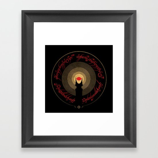 The Lord of the Rings Framed Art Print