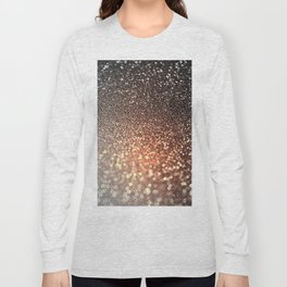 Tortilla brown Glitter effect - Sparkle and Glamour Long Sleeve T-shirt
