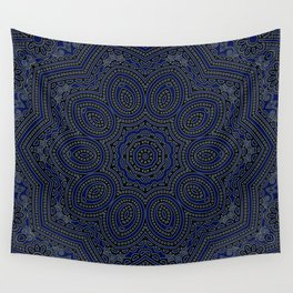 Marrakech Mandala With Stratos Backdrop Wall Tapestry