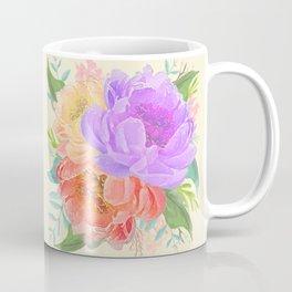 Light Peonies Coffee Mug