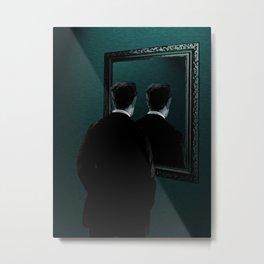 Into the mirror  Metal Print