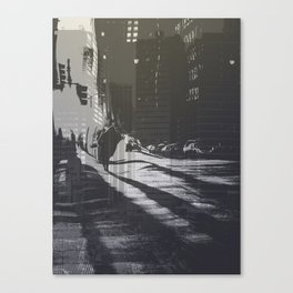 City collage Canvas Print