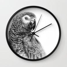Gray Parot G083 Wall Clock