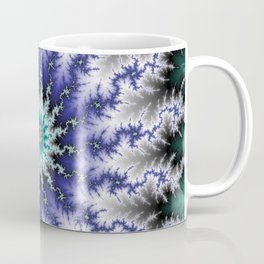 Fractal Blossom Coffee Mug