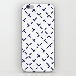 Sashiko 3 iPhone Skin