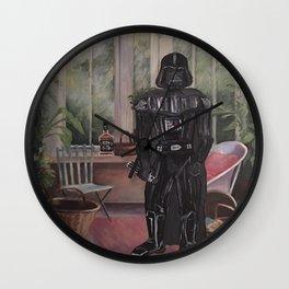 Darth Vader at home  Wall Clock