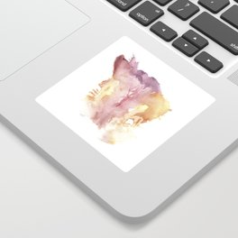 Verronica Kirei's Vulva Monotype Print Sticker