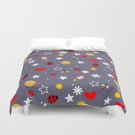 Nature's Space Duvet Cover