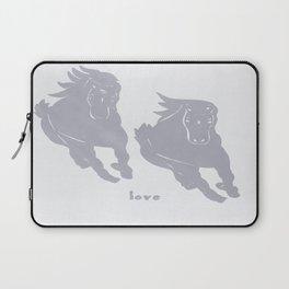 Horses - Love - Wild Veda Laptop Sleeve