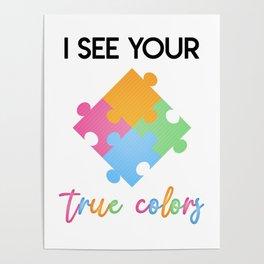 Autism Colors v2.0 Poster