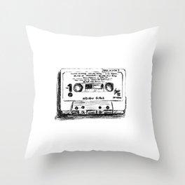90's Series Cassette Tape #4 Throw Pillow