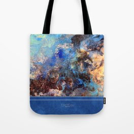 Pacific Lagoon - Original Abstract Art by Vinn Wong Tote Bag