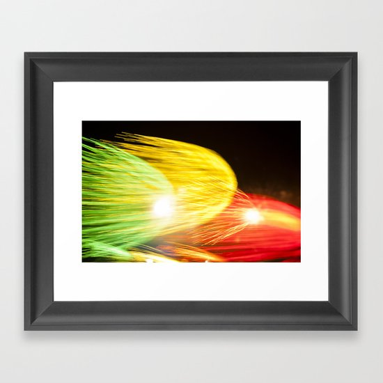 Efflorescence 24 Framed Art Print