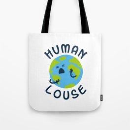 Human Louse Tote Bag