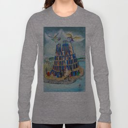 Walking the Tower of Babylon Long Sleeve T-shirt