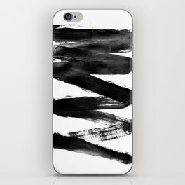 Black Lightning iPhone Skin