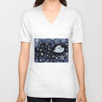 holiday V-neck T-shirts featuring Holiday by Ivanushka Tzepesh