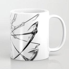 Nnoitora and Neliel - Bleach Coffee Mug