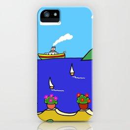 Mediterranean Holiday iPhone Case