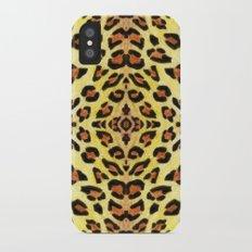 Leopard print iPhone X Slim Case