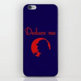 Deduce me iPhone Skin