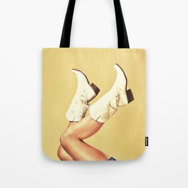 These Boots - Yellow Tote Bag